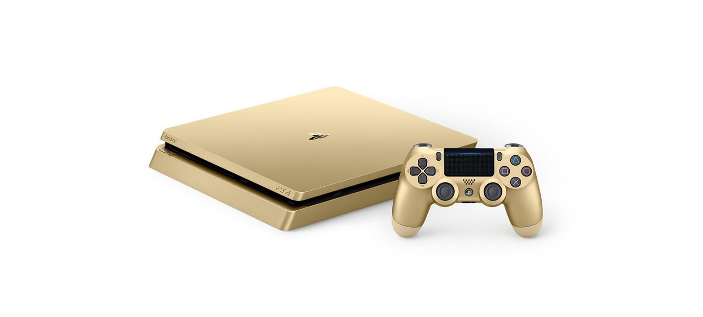 Золотые и серебряные PS4 в России с июля