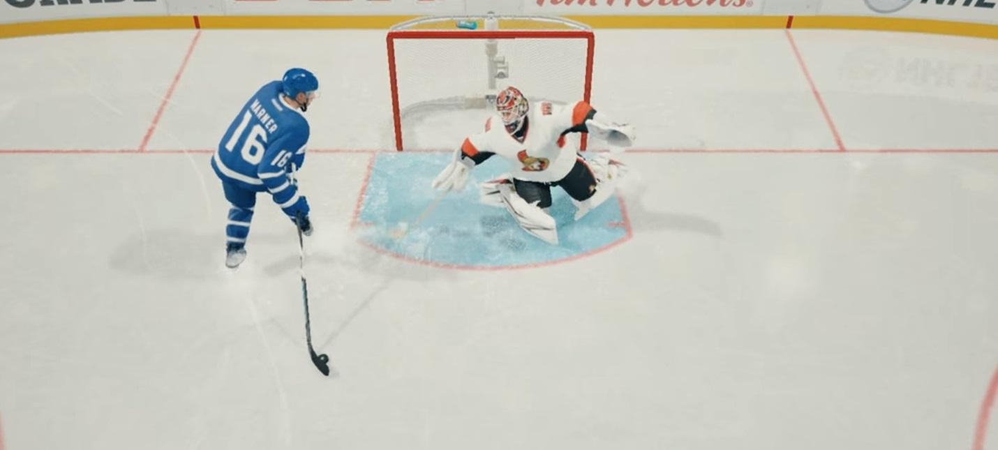 Первый тизер NHL 18