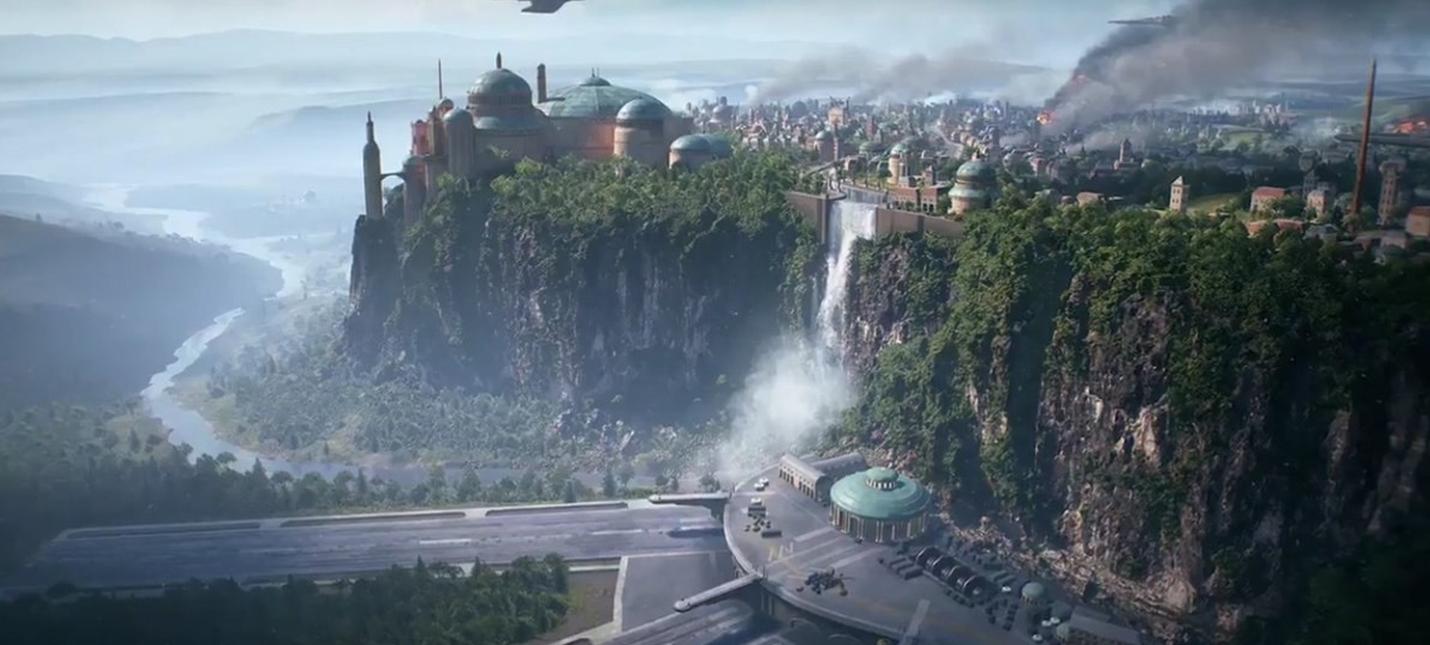 Первый скриншот Набу из Star Wars Battlefront II
