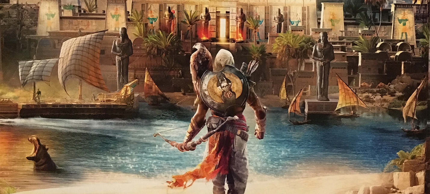 Детали Assassin's Creed Origins из Game Informer
