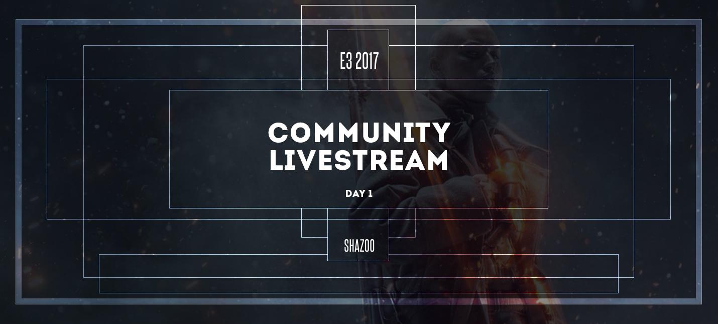 Пре-шоу и обсуждение конференции EA на E3 2017