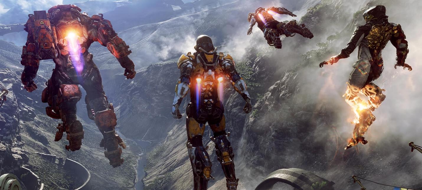 E3 2017: Первый скриншот Anthem от BioWare, релиз весной 2018