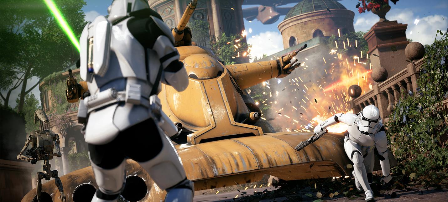 В Star Wars Battlefront 2 боевые очки тратятся на героев и технику