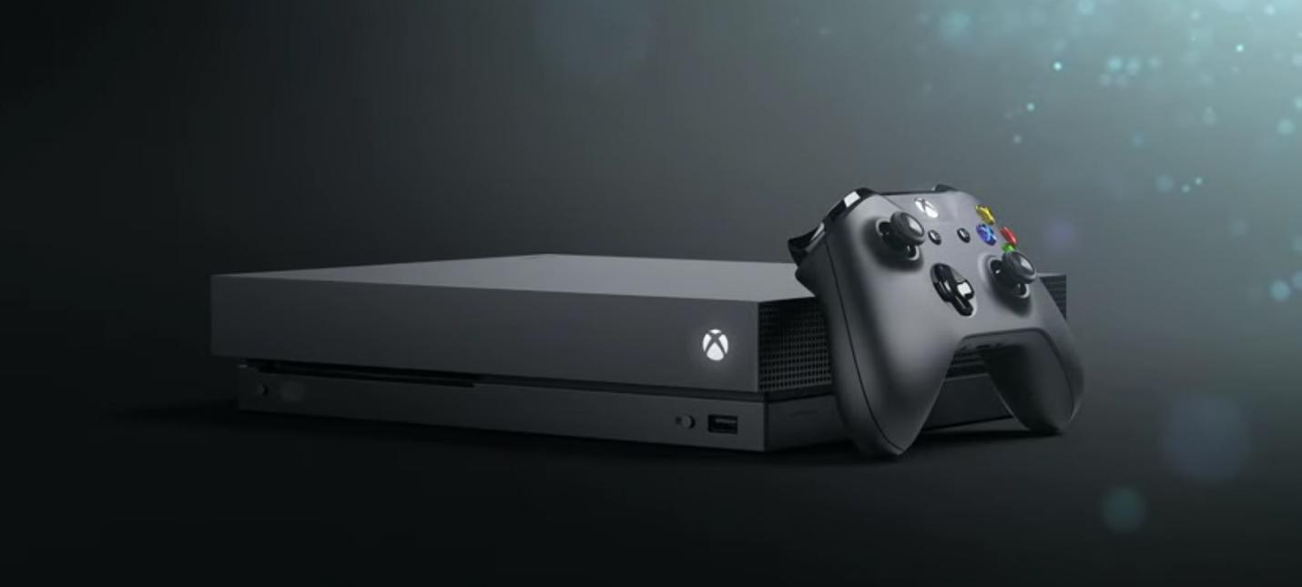 E3 2017: Новая консоль Xbox One X стоит $500