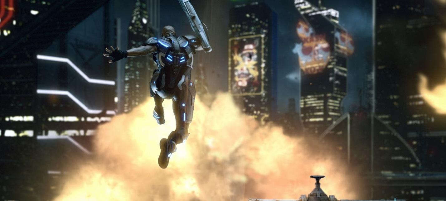 E3 2017: Взрывные скриншоты и бокс-арт Crackdown 3