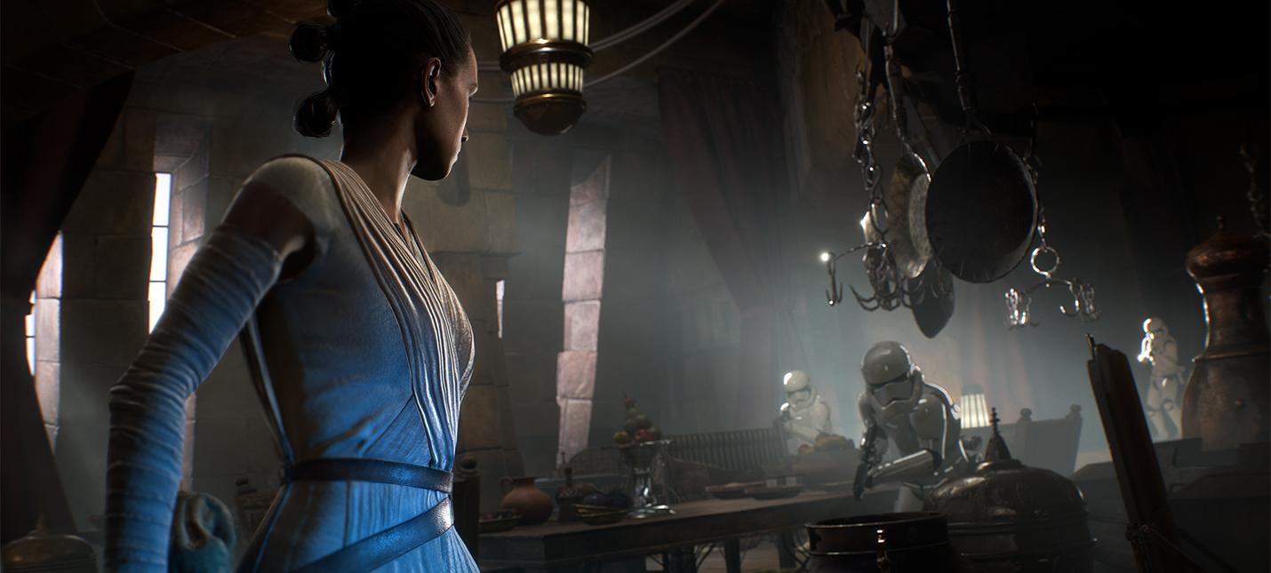E3 2017: Геймплей Star Wars Battlefront 2 на PC с ультра-настройками