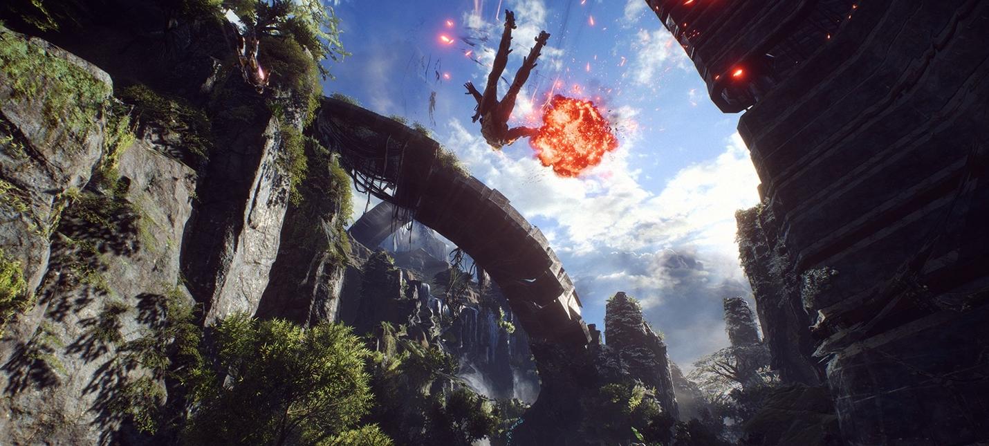 Концепты и скриншоты Anthem от BioWare