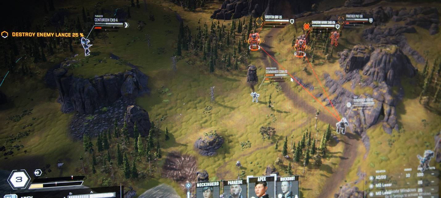 E3 2017: Детали BattleTech с PC Gaming Show