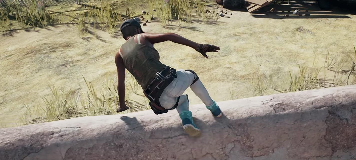 E3 2017: персонажи PUBG научатся карабкаться и перепрыгивать препятствия