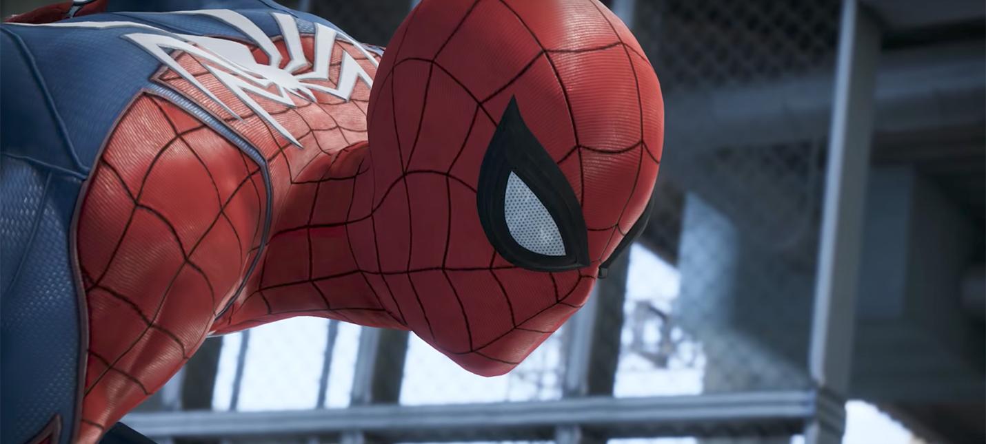E3 2017: первый геймплей эксклюзива PS4 — Spider-Man