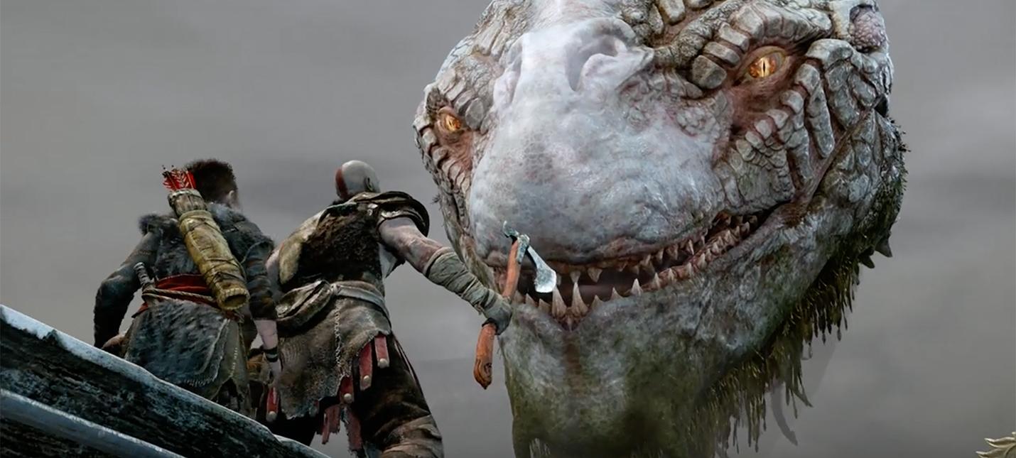 Новое геймплейное видео God of War работало на обычной PS4