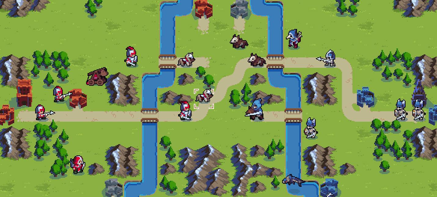 Wargroove — духовный наследник Fire Emblem и Advance Wars с удобным редактором карт и кампаний