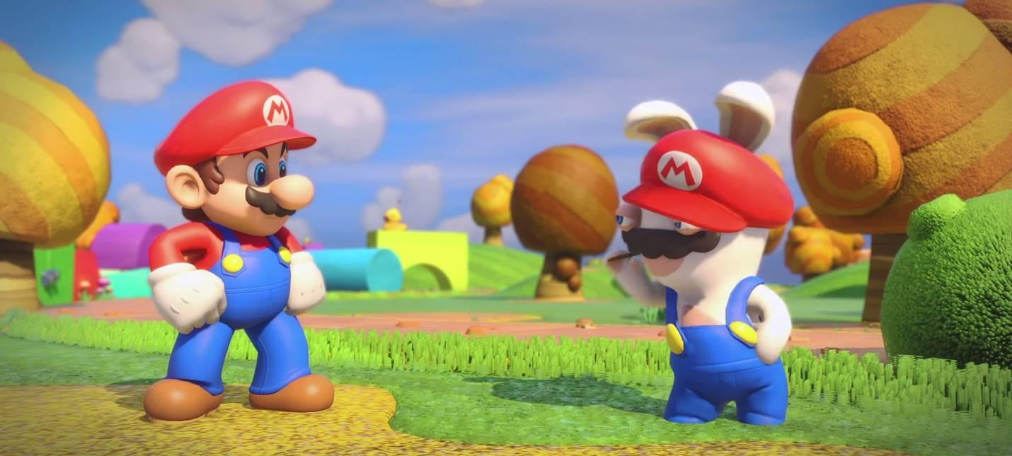 Четыре скришота Mario + Rabbids: Kingdom Battle и полный матч