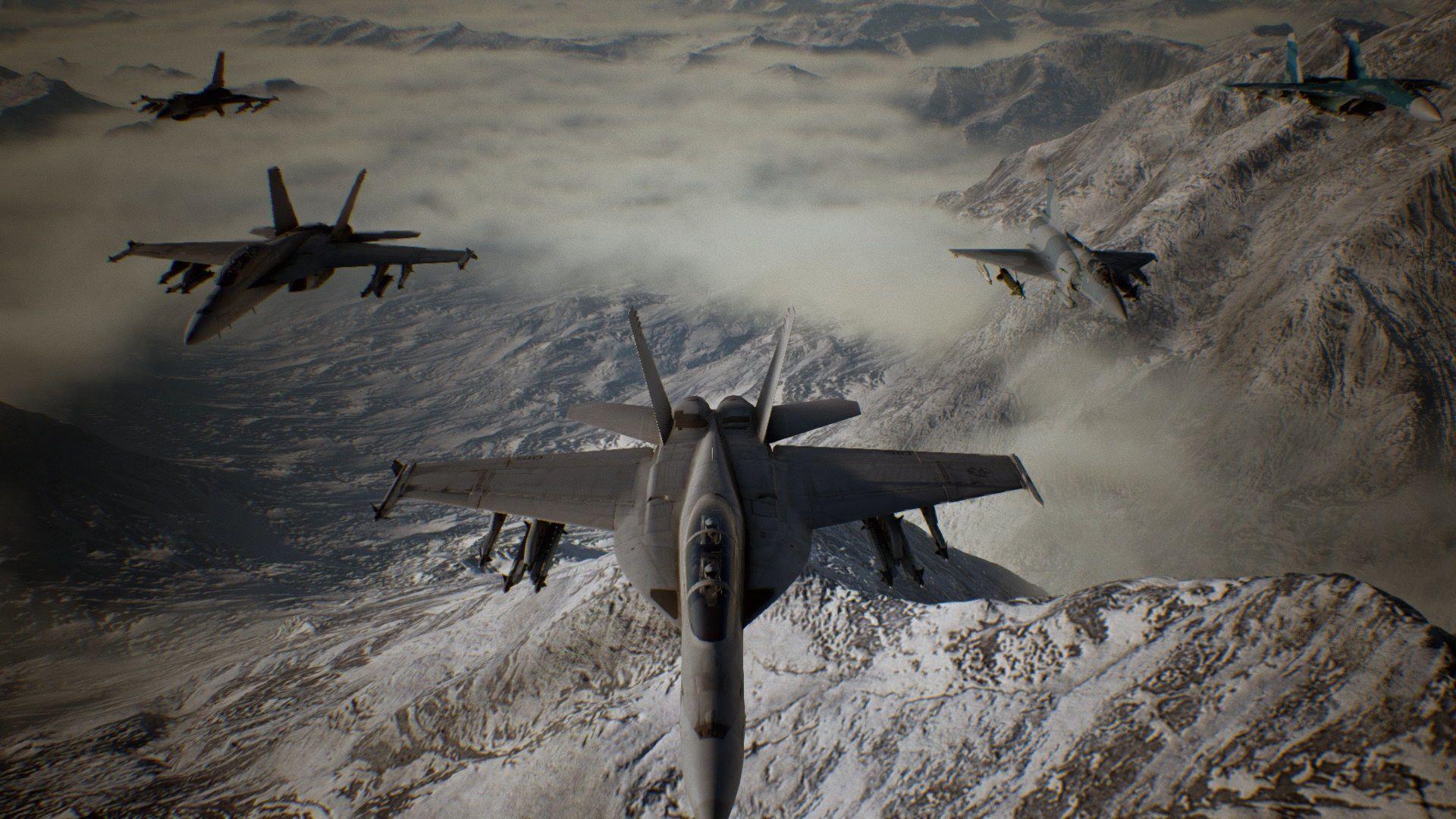 Несколько новых скриншотов Ace Combat 7: Skies Unknown