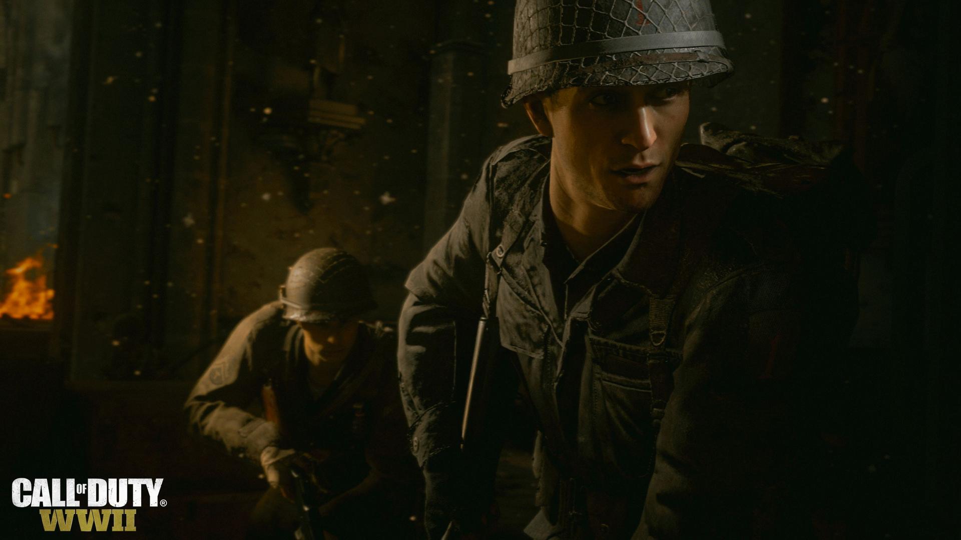 E3 2017: новые скриншоты Call of Duty: WWII