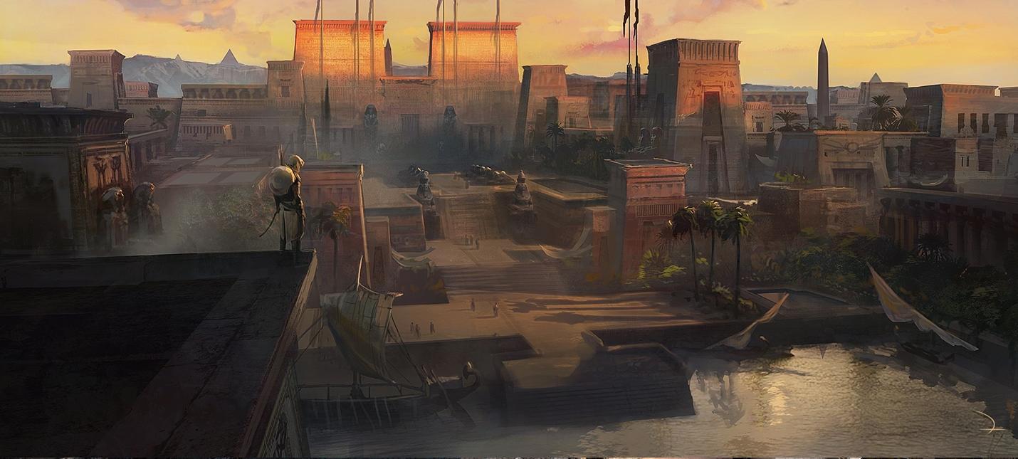 Концепт-арты Assassin's Creed Origins