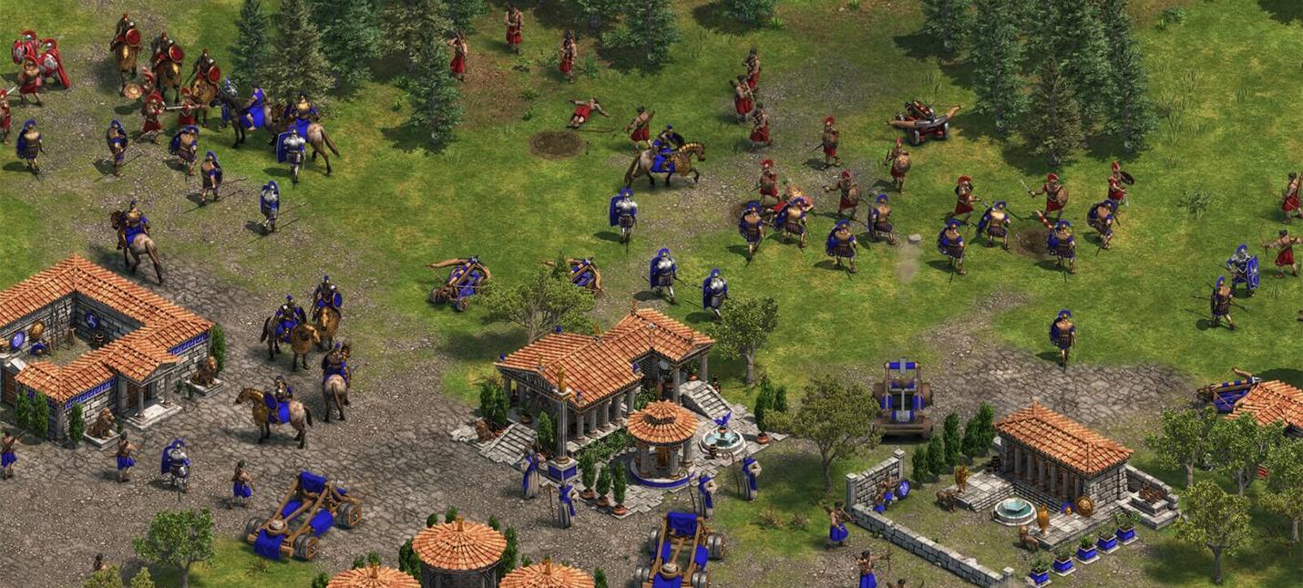 Минимальные системные требования ремастера Age of Empires
