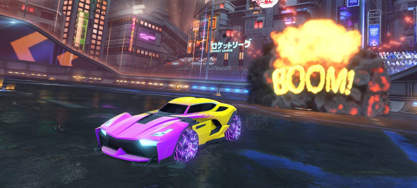 Switch запускает Rocket League в 720p и 60fps в обоих режимах