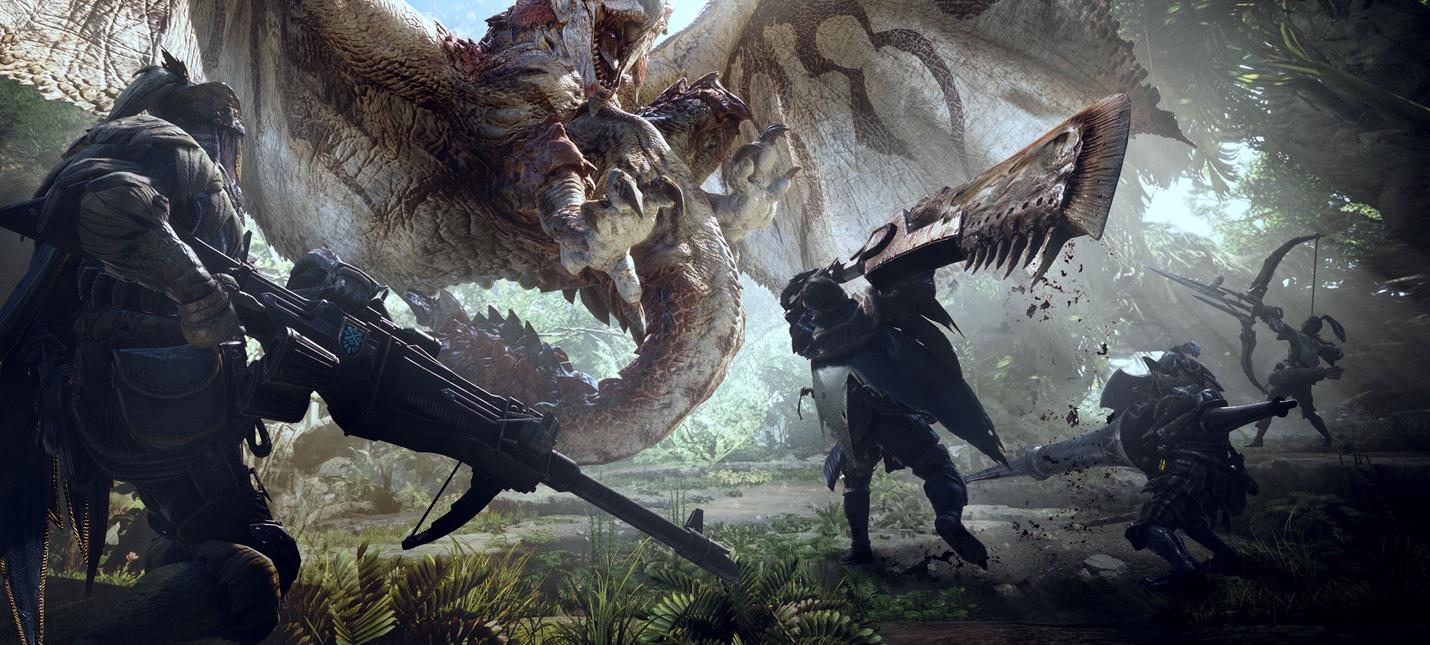 25 минут геймплея Monster Hunter World