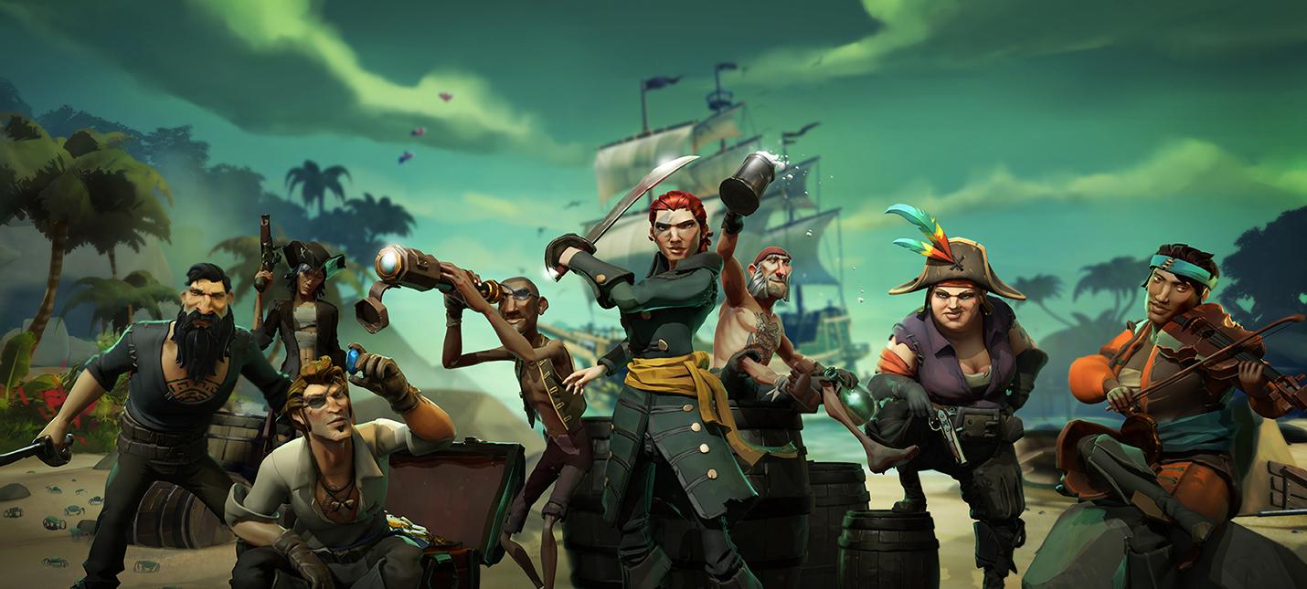 Sea of Thieves заставляет почувствовать себя пиратом