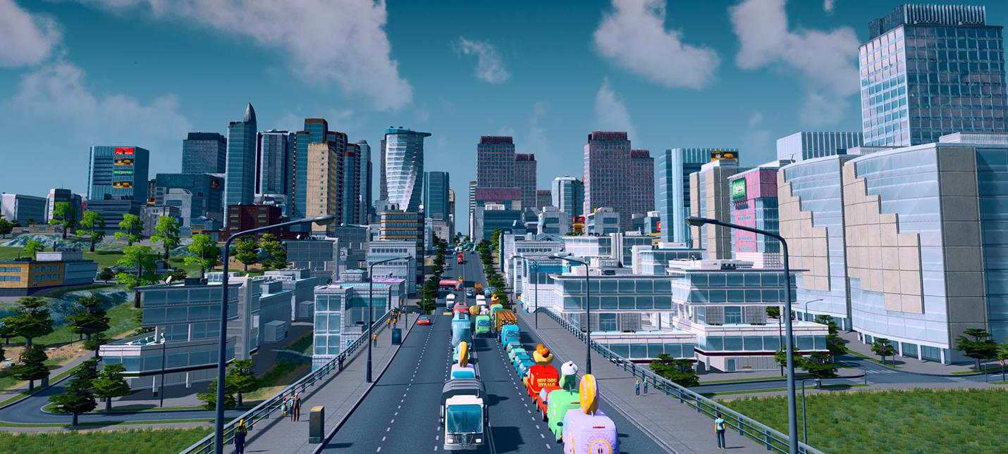Градостроительный симулятор Cities: Skylines выйдет на PlayStation 4 в августе