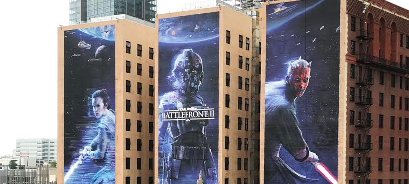 Вы знали, что гигантскую культовую рекламу на E3 рисуют руками?