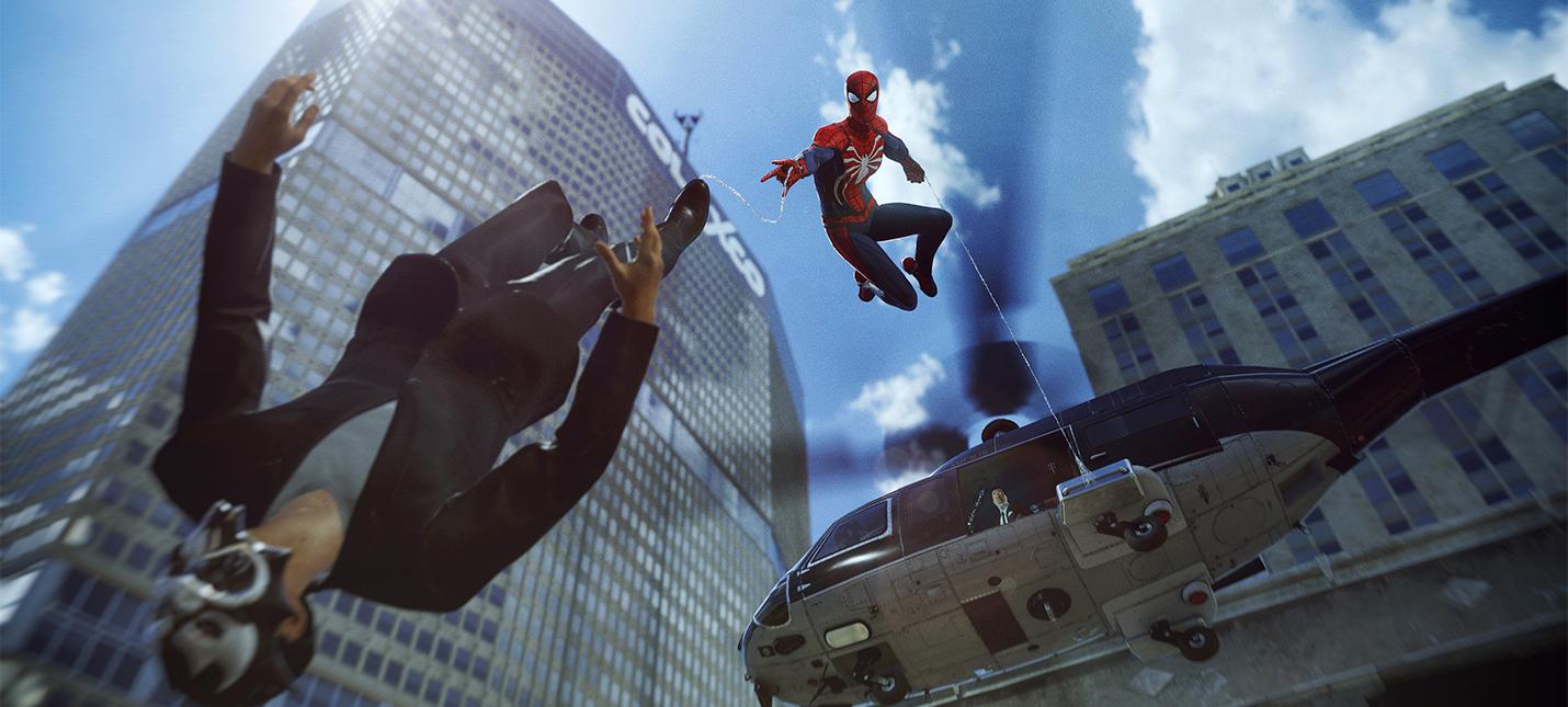 Новые детали Spider-Man от Insomniac