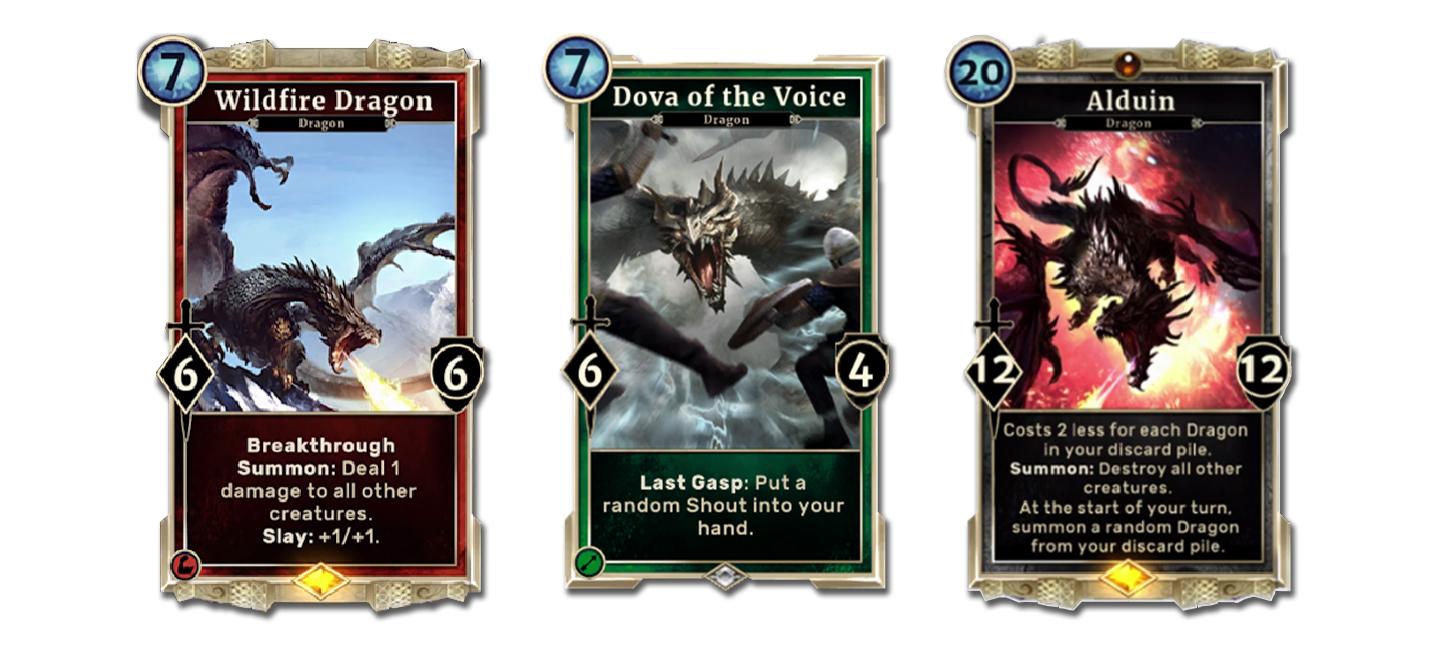 Фанаты недовольны четырехлапыми драконами TES: Legends