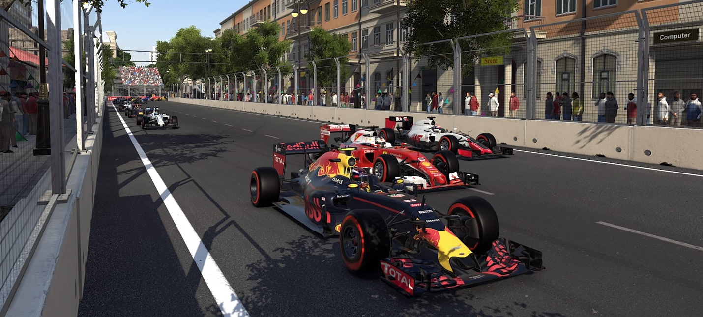 F1 2017 будет работать в нативном 4К при 60 кадрах на Xbox One X