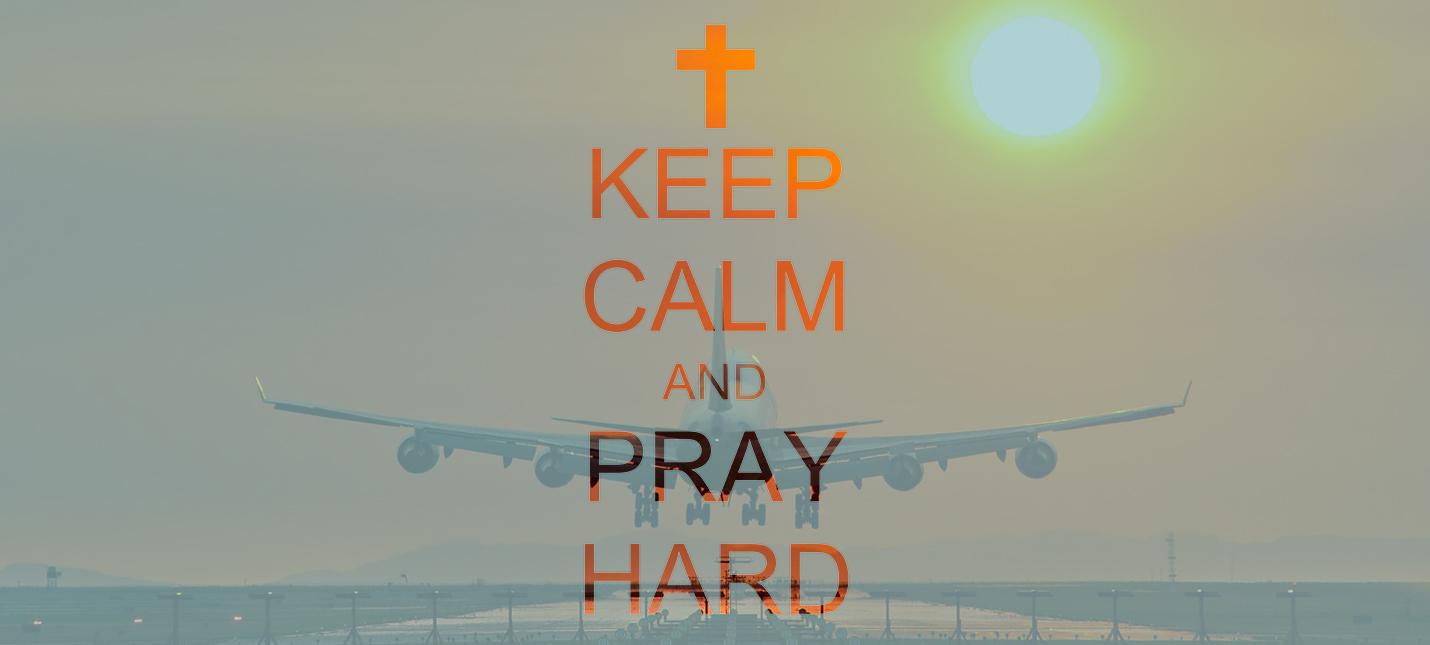 Пилот попросил пассажиров молиться, когда самолет начало трясти