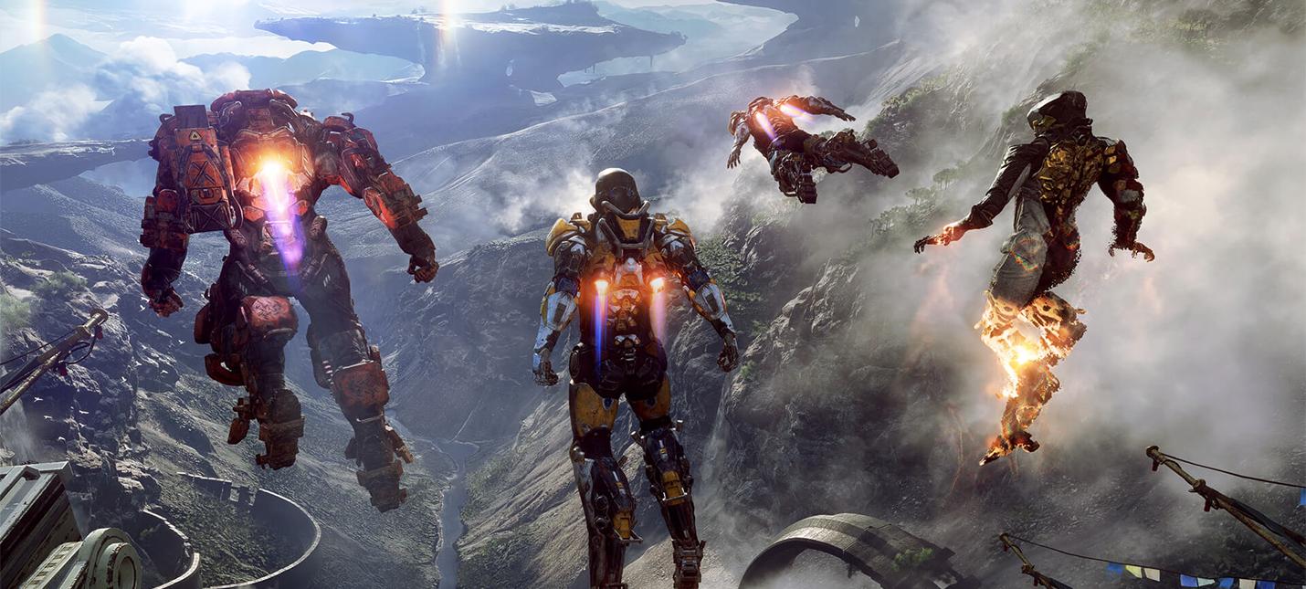 Anthem — научное фэнтези, а не научная фантастика в стиле Mass Effect