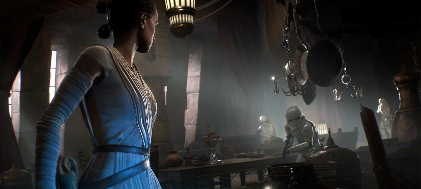 Началась рассылка PC-ключей на альфа-тестирование Star Wars Battlefront 2