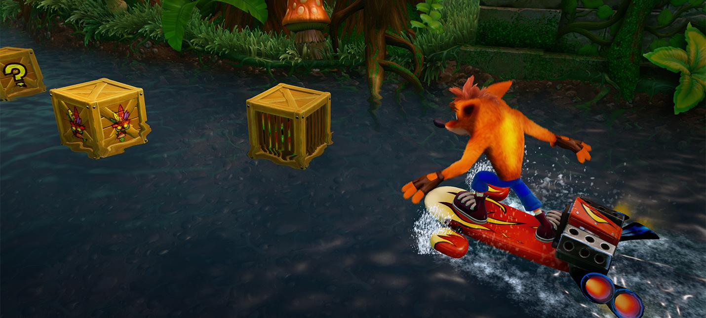Первые оценки Crash Bandicoot N. Sane Trilogy