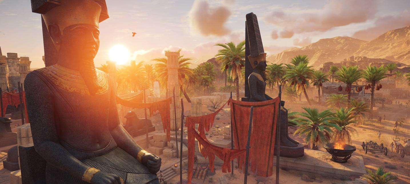 Город Мемфис из Assassin's Creed Origins будет в два раза больше Гаваны из Black Flag