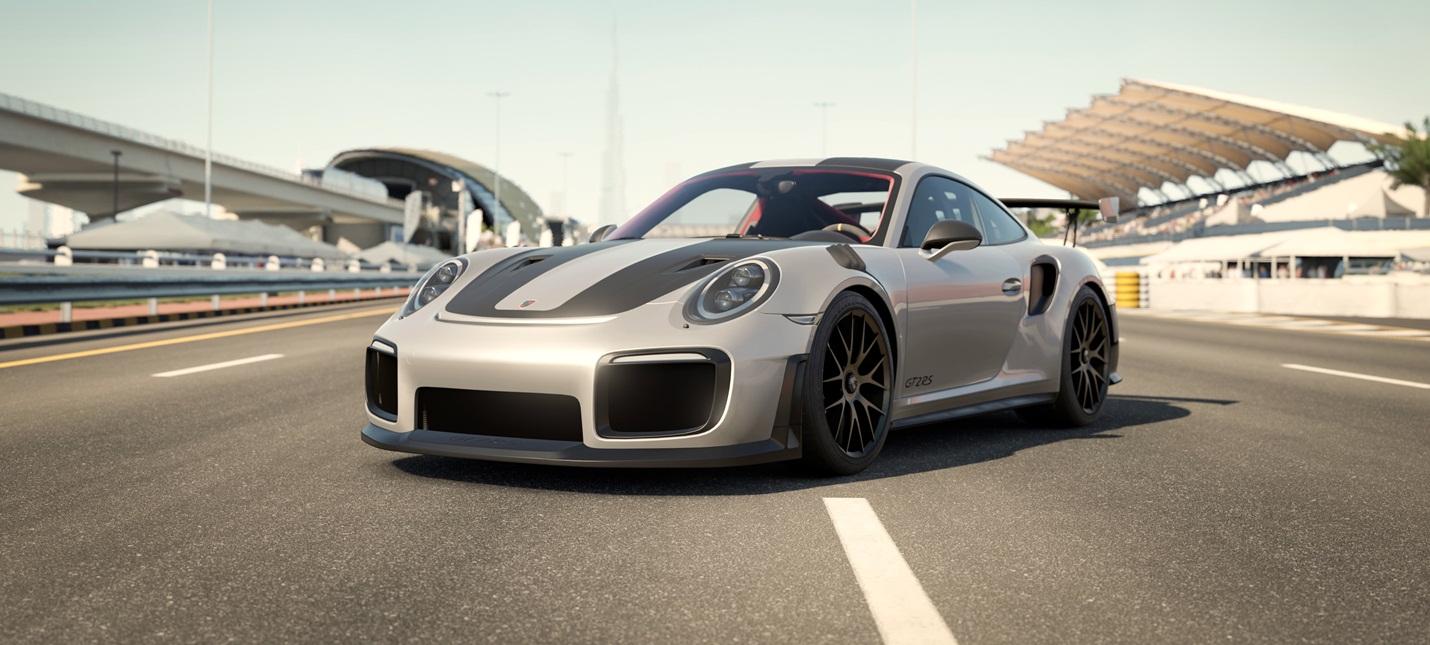 Новенькая Porsche 911 GT2 RS на 4К скриншотах Forza Motorsport 7
