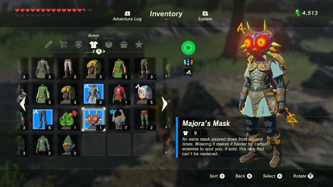 играть онлайн в игру зельда маска маджоры