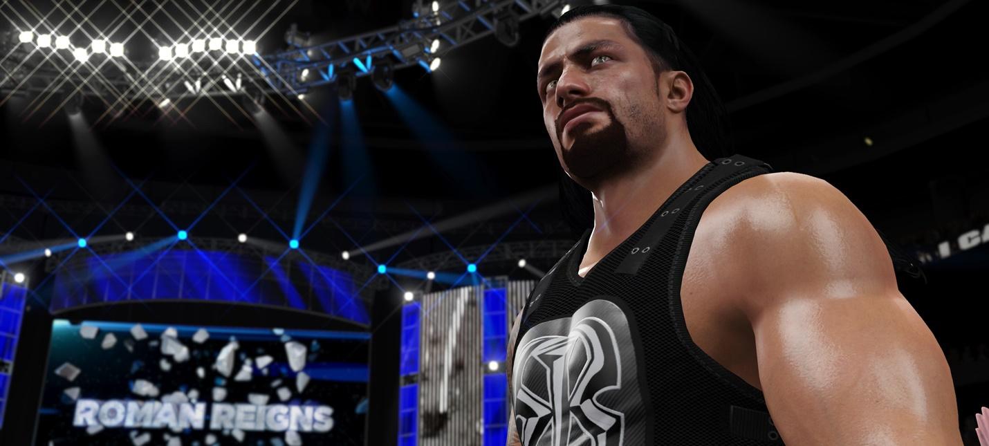 WWE 2K18 получит новый движок