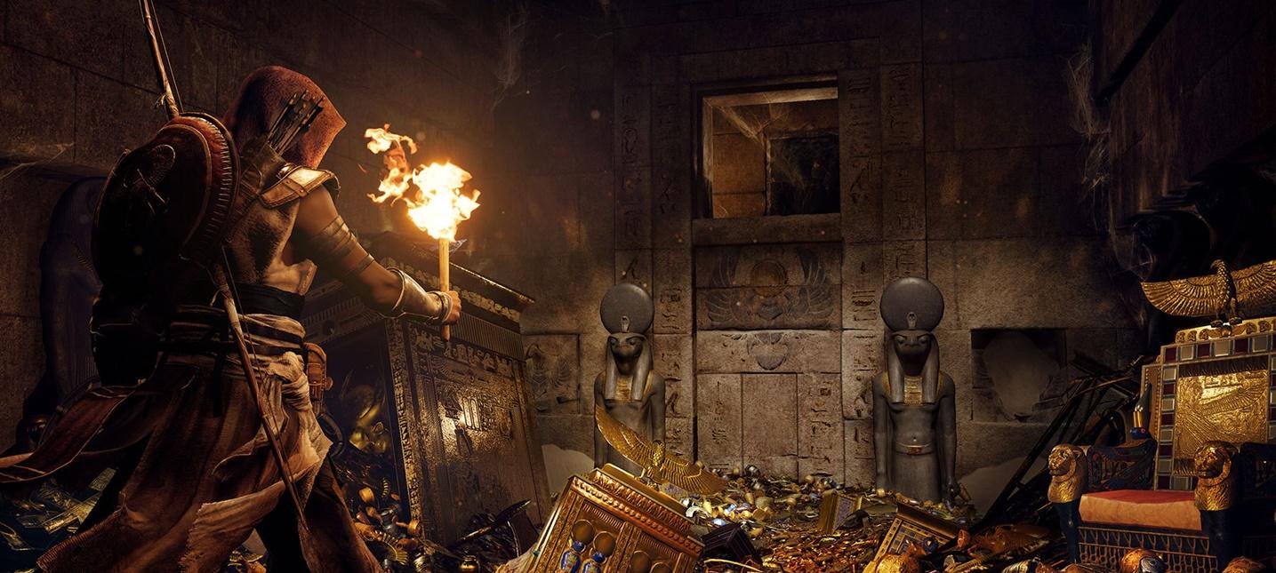 20 минут 4K-геймплея Assassin's Creed Origins с Xbox One X