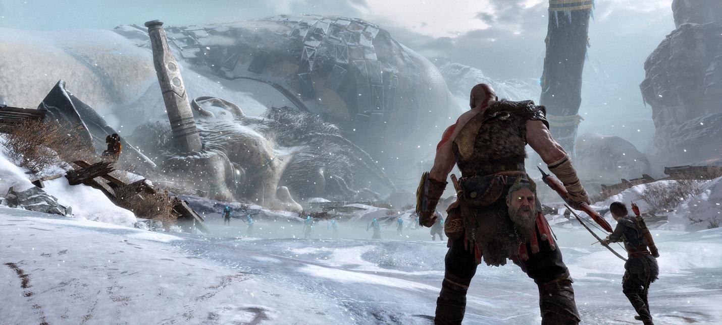 Комбо Кратоса в God of War будут задействовать Атрея