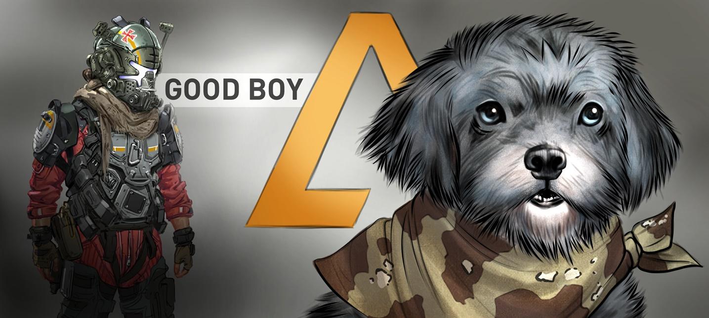 В Titanfall 2 появится баннер с псом одного из активных игроков