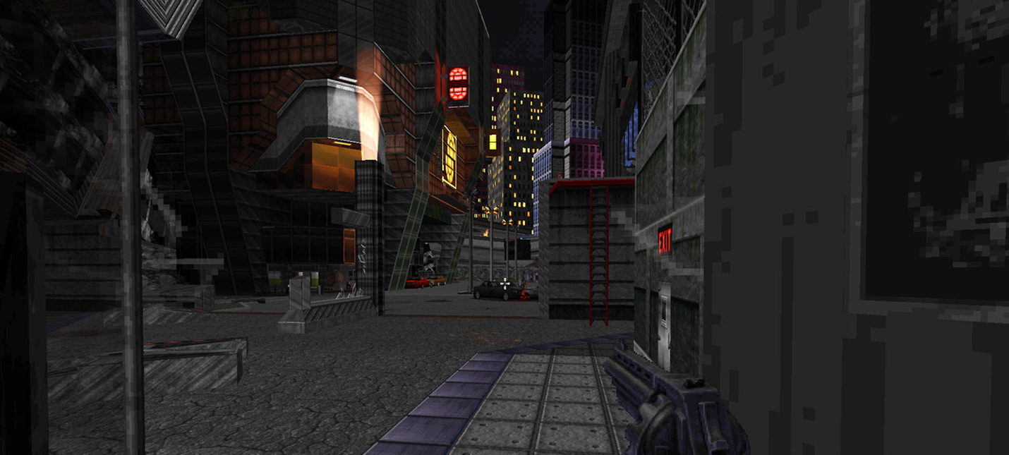 Ion Maiden — новый ретро шутер от первого лица на движке Duke Nukem 3D