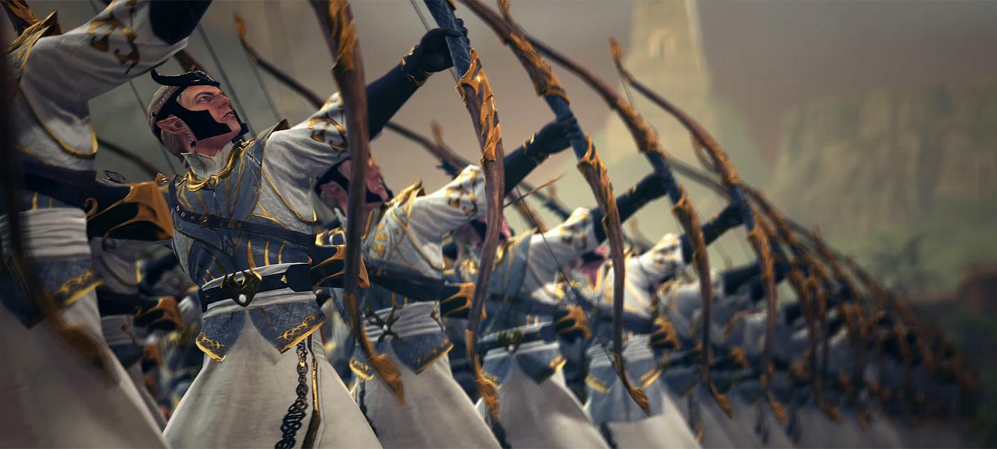 Геймплейное видео Total War: Warhammer 2 за эльфов
