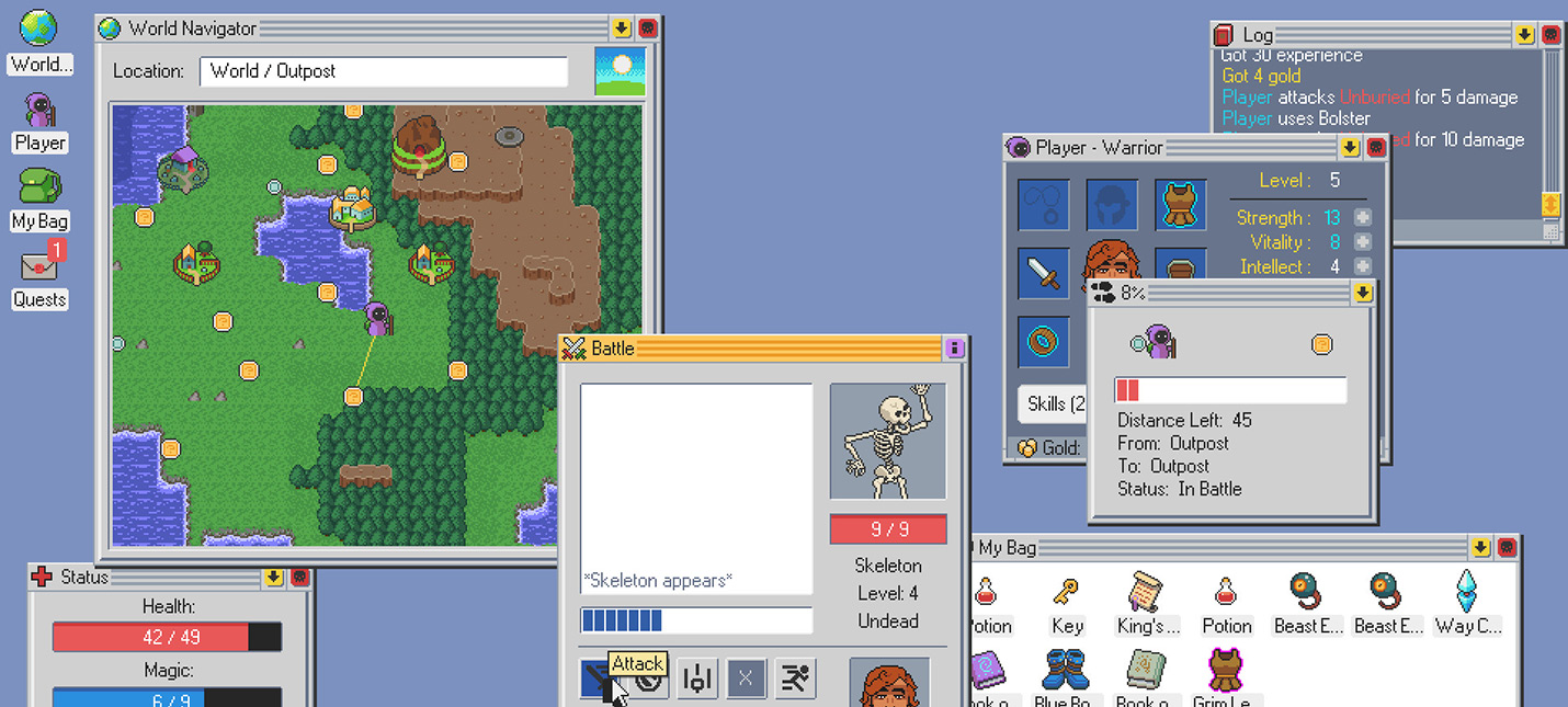 Kingsway — RPG в виде операционной системы выходит 18 июля