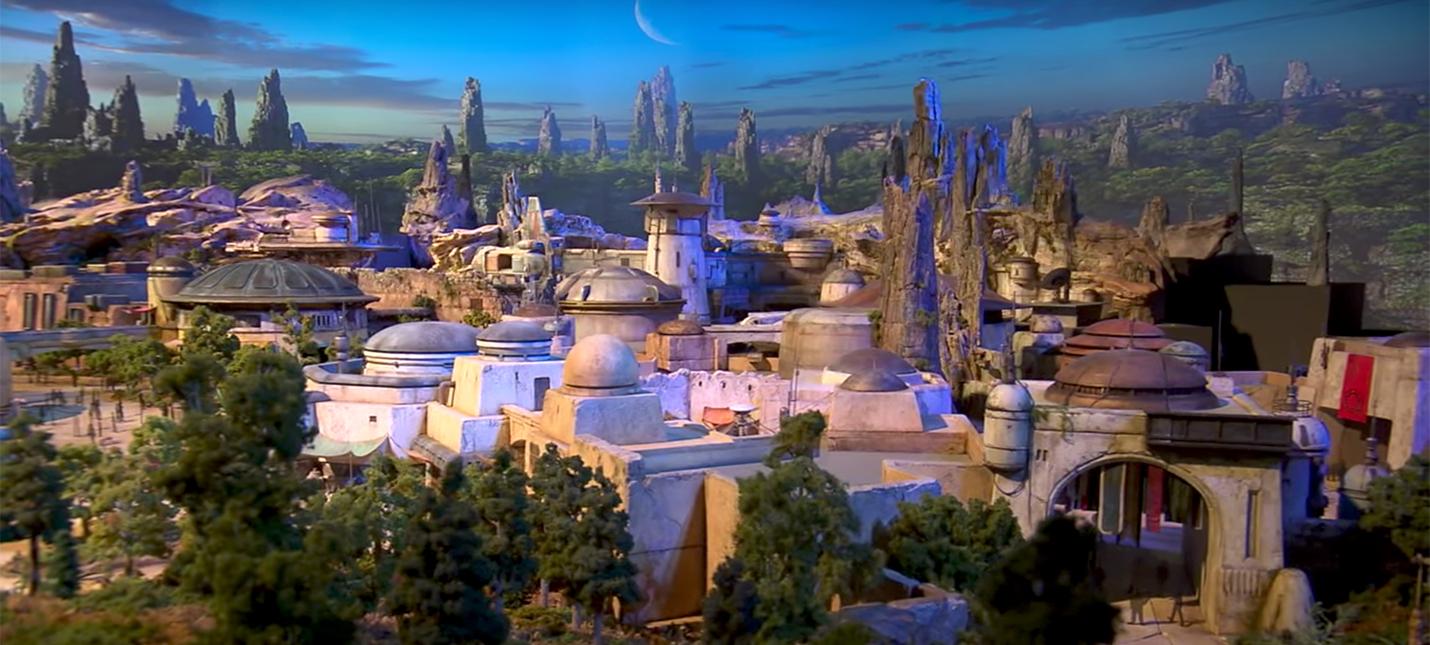 Детальный взгляд на парки развлечений Star Wars Land