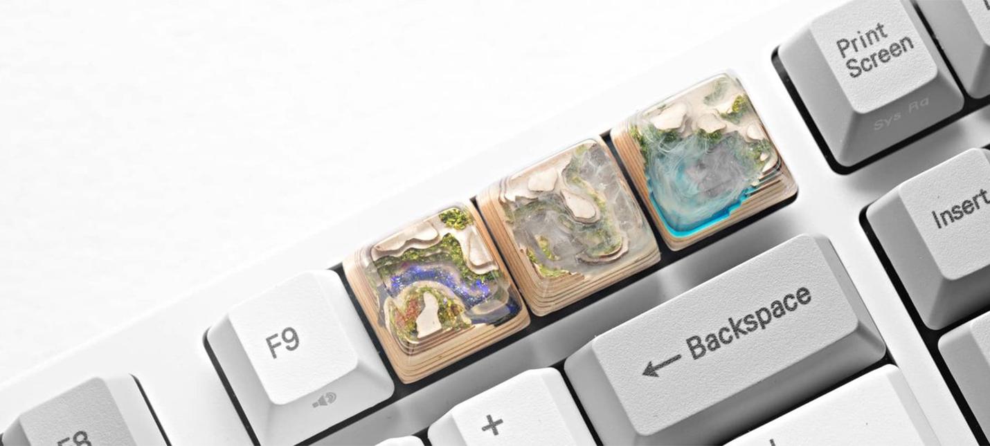 Миниатюрные миры в клавиатуре