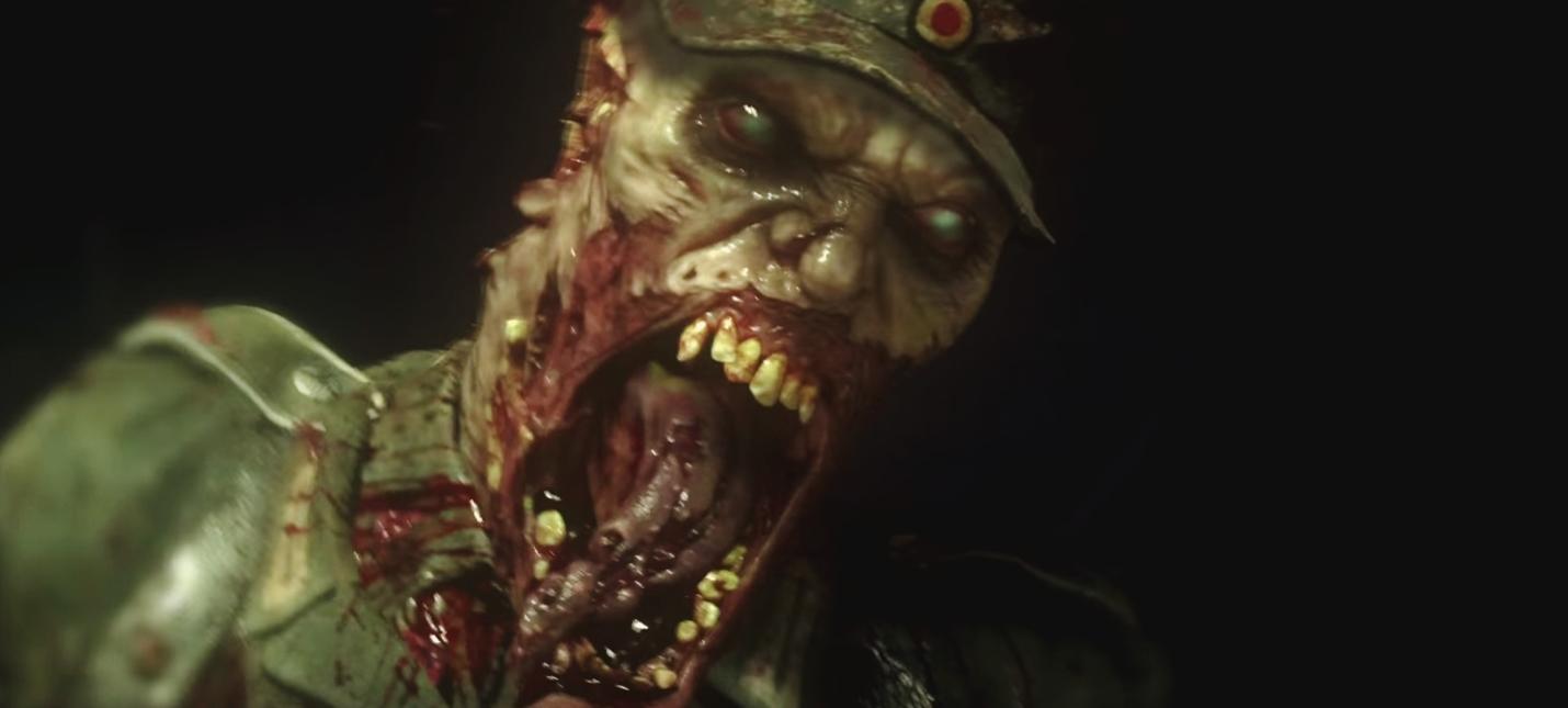 Первый трейлер зомби-режима Call of Duty: WWII