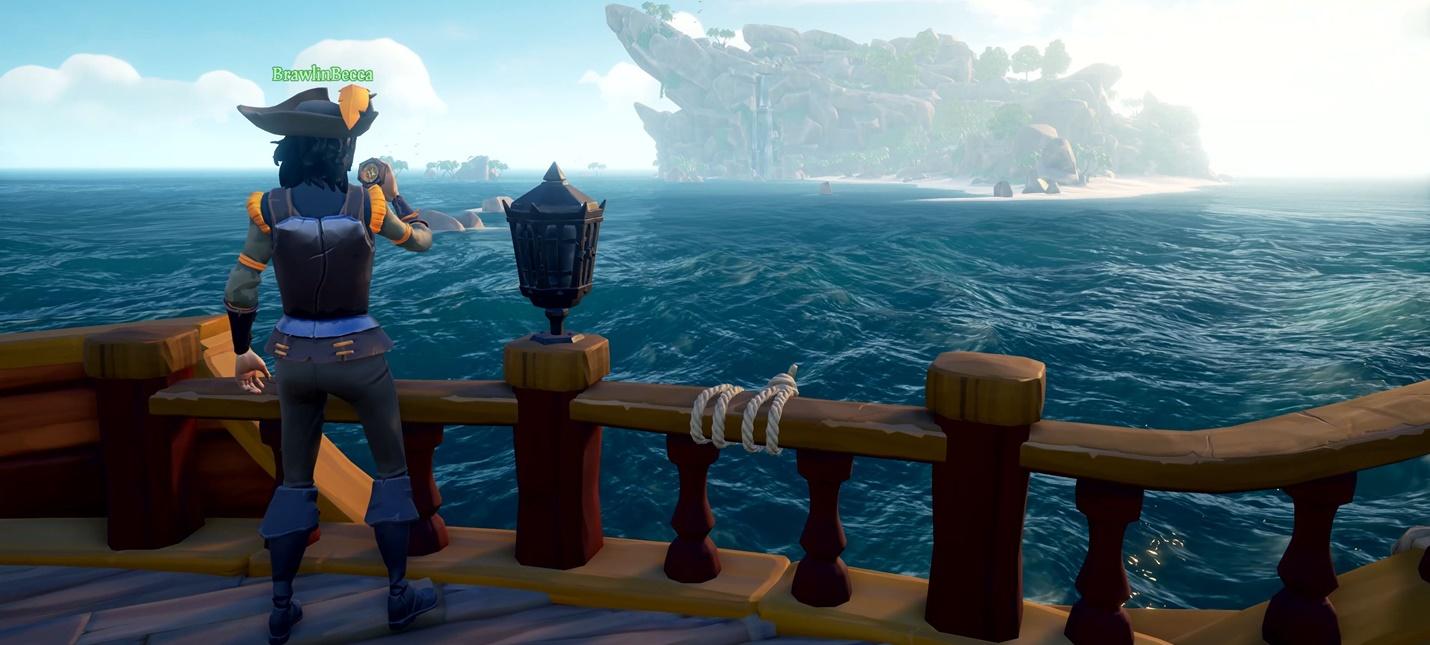 Sea of Thieves обещают сделать лучшей мультиплеерной игрой в мире