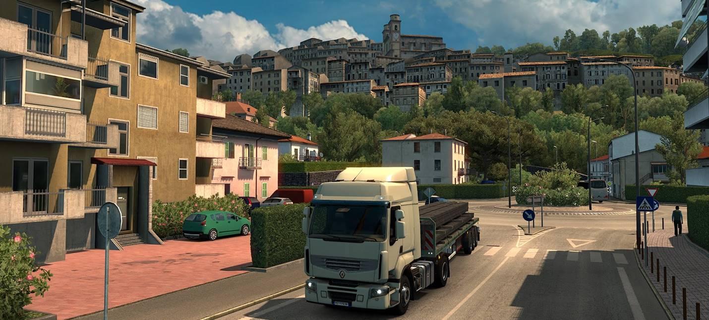 Апеннинские пейзажи появятся в Euro Truck Simulator 2