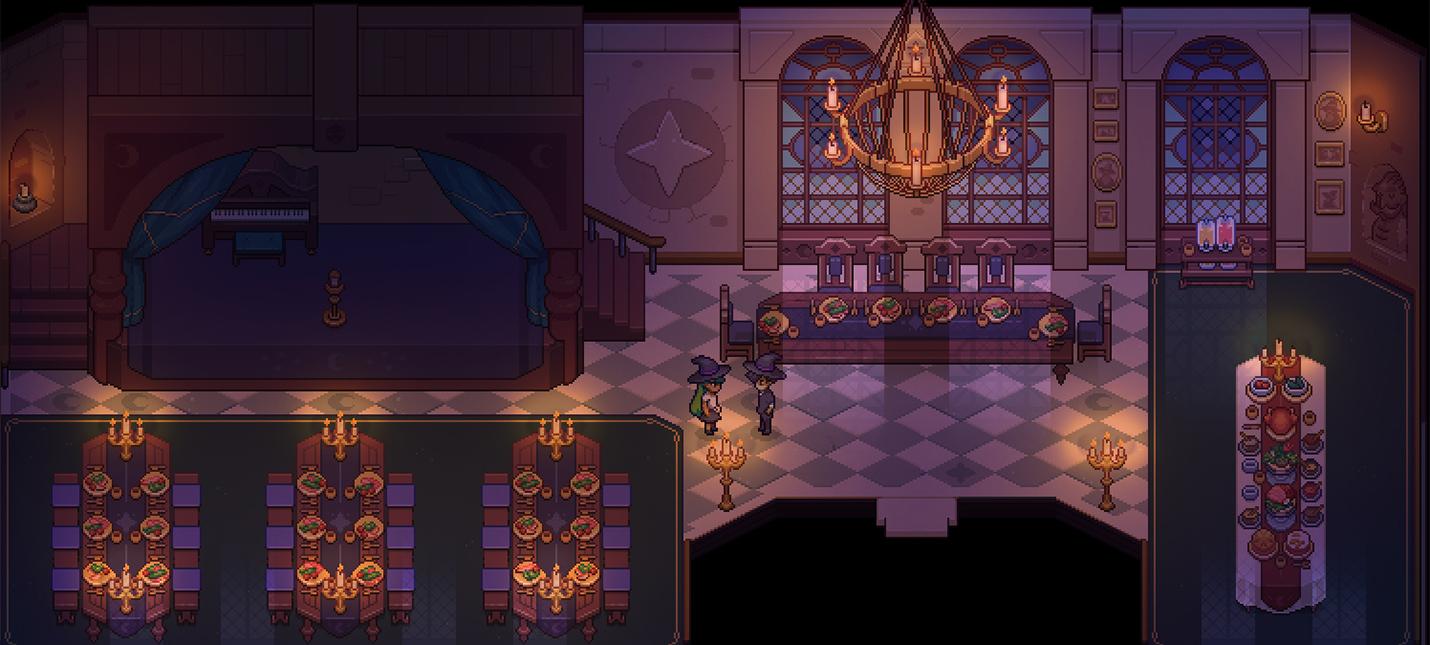 Еще пара скриншотов симулятора магической школы в стиле Stardew Valley