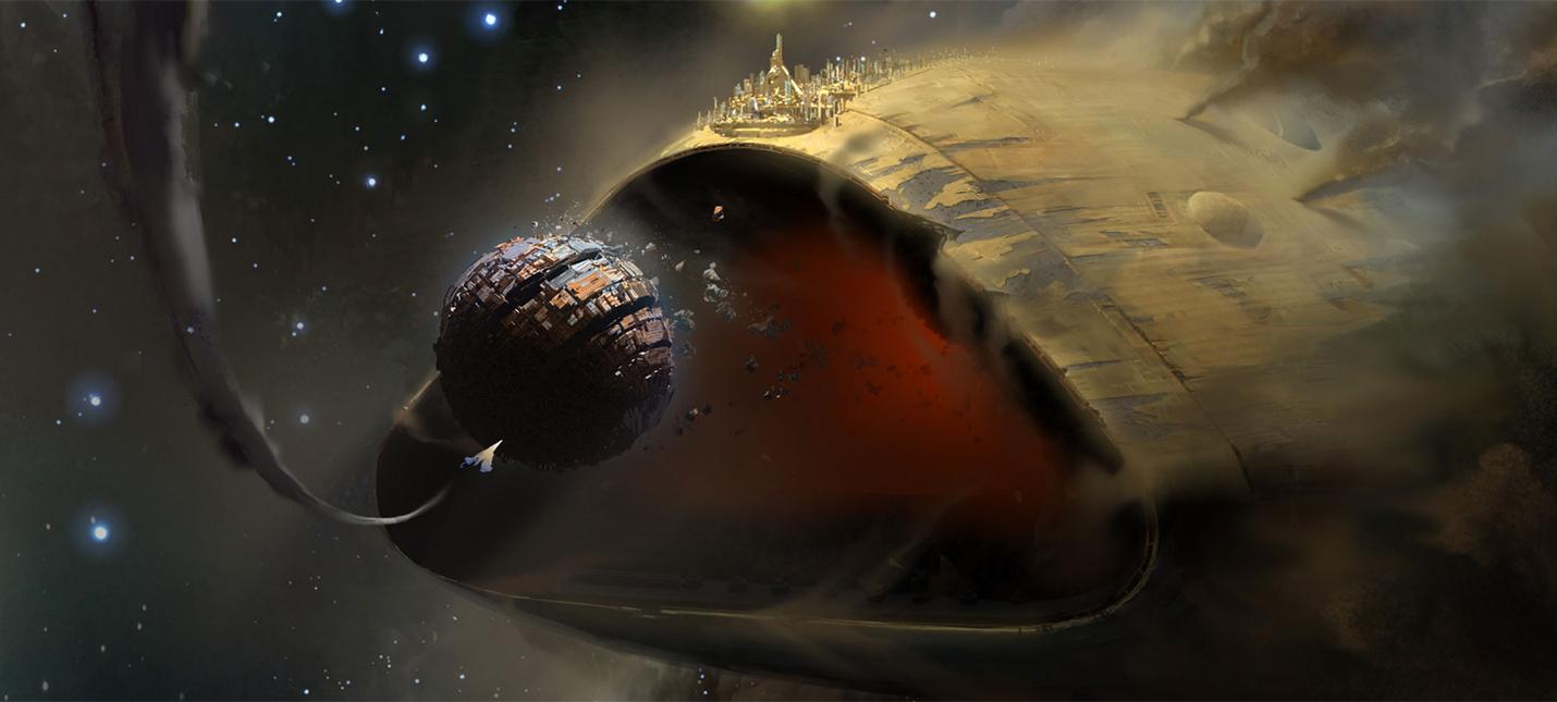 Корабль Левиафан из одноименного рейда Destiny 2 вызывает разные ассоциации